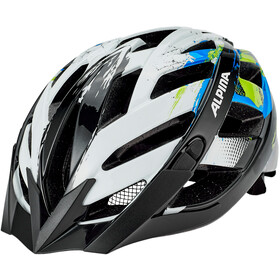 Alpina Panoma 2.0 Casco, white-cyan-green